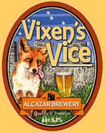 Vixen's Vice ale at the Fox and Crown, Nottingham