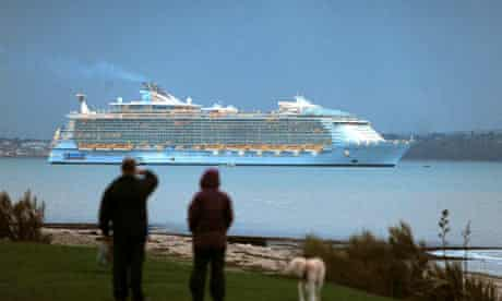 Oasis of the Seas, the world's largest cruise ship