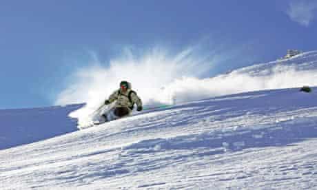 Warren Smith skiing in Wanaka