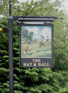 The Bat and Ball pub, Hampshire