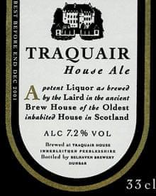 Traquair Arms Hotel ale, Scotland