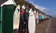 Surf huts in Bournemouth