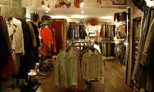 Foxhole vintage shop, Brussels