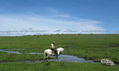 Horse riding in Panagea, Uruguay