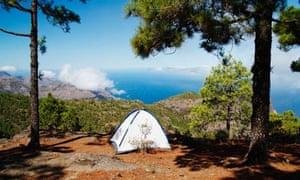 Campsite Gran Canaria, Canary islands