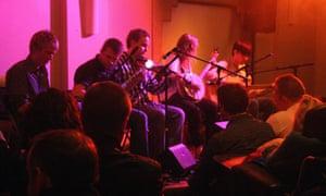 Irish music at The Forge, Connemara, Ireland