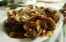 Lamcombe chili clams
