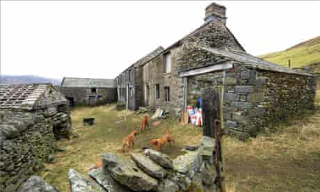 Sleddale Hall in Cumbria, the cottage featured in Withnail and I