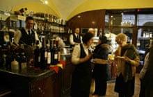 Aperitivo at Caffe Roberto, Turin