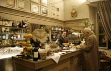 Aperitivo at Caffe Floris, Turin