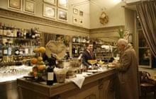 Aperitivo at Caffe Floris, Turin