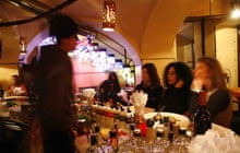 Aperitivo at Lobelix cafe, Turin