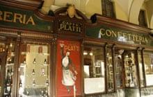Aperitivo in Turin, Caffe Platti