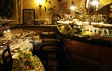 Aperitivo in Turin: Arancia di Mezzanotte cafe