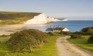 Seven Sisters, South Downs, Sussex, UK