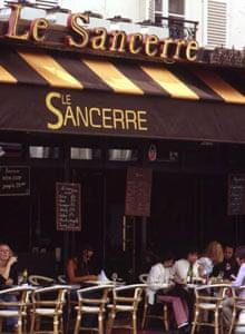 Paris cafes: Le Sancerre