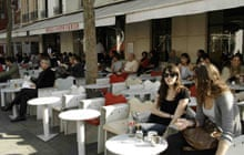 Paris cafes: Cafe Beaubourg