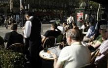 Paris cafes: Cafe de la Paix