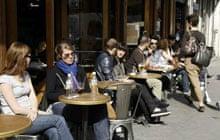 Paris cafes: Cafe Charbon
