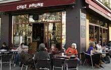 Paris cafes: Chez Prune