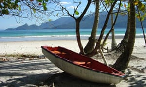 Brazil's beaches: Praia Lopes Mendes, Ilha Grande, Rio State