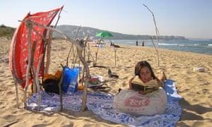 Beach on Bulgaria's Black Sea