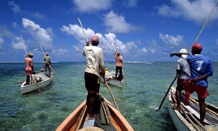 Fisherman, Rodrigues Island, Mauritius