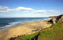 Porthtowan beach, Cornwall, United Kingdom