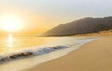 Sifah beach, Oman