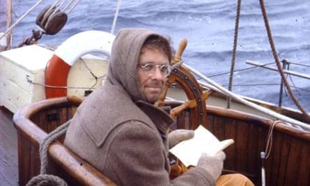 Chris Stewart sailing