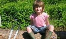 Dolly Stroud on a National Trust holiday