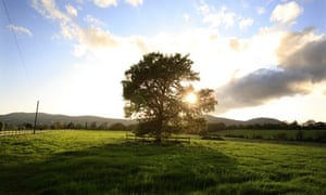 Walking supplement. View of the Malvern Hills