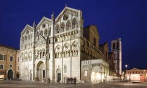 San Giorgio cathedral in Ferrara, Italy