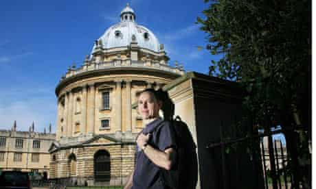 Phil Hogan pauses outside the Radcliffe Camera after completing a walk around Oxford