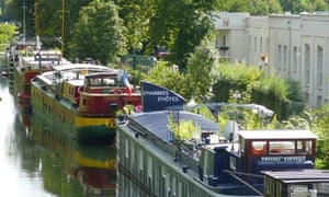 Barges in Metz