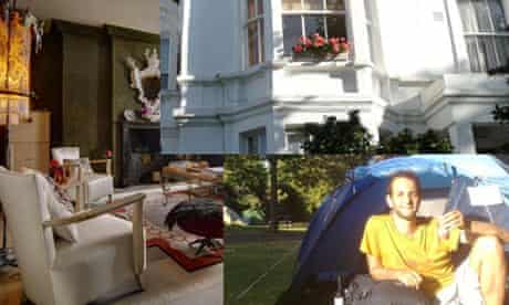 Three ways of staying in London