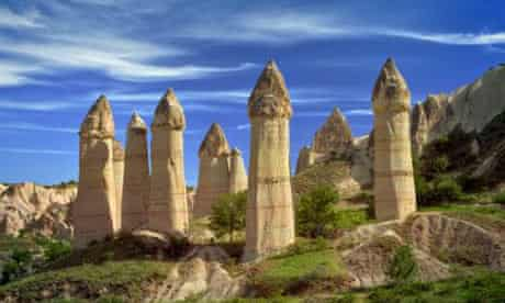 Turkey, Cappadocia, Love Valley, rock formations