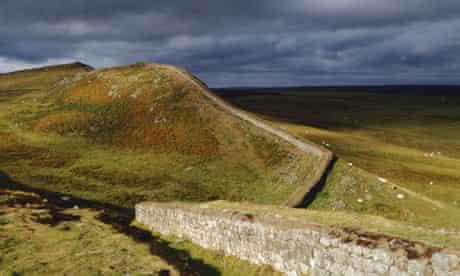 Hadrian's Wall, Housesteads, Northumberland, England