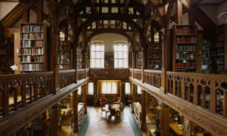 St Deiniol's Residential Library at Hawarden in North Wales