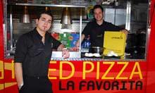 La Favorita pizza wagon, Edinburgh