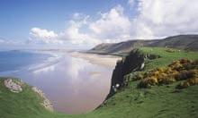 Rhossili beach, Gower, Wales