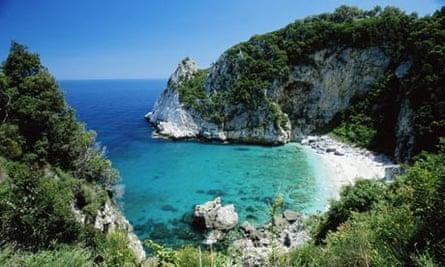 Fakistra Beach, Pelion, Greece