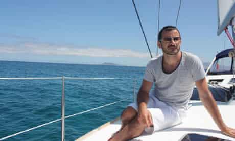 Gareth McLean in La Graciosa