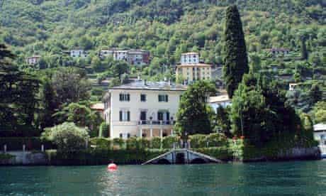 George Clooney's villa on Lake Como