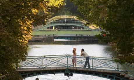 Canal Saint-Martin near Gard du Nord