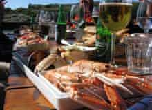 Lunch on Koster islands, Sweden