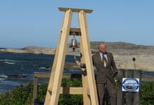 King of Sweden opens their first marine national park