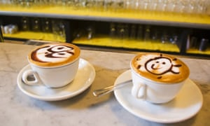 Cappuccino coffees