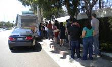 Taco truck in LA