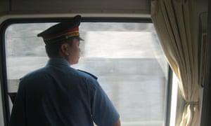 China - train guard